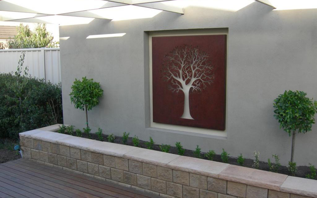 creative ideas for garden wall art
