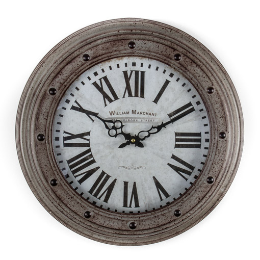 Buy William Marchant Wall Clock Online Purely Wall Clocks