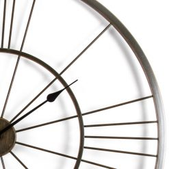 Iron-Lines-Giant-Wall-Clock-Close