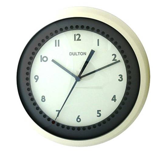 Buy Ivory Retro Wall Clock Online Purely Wall Clocks
