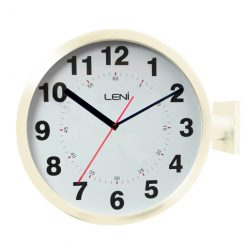 Dual display clock in ivory