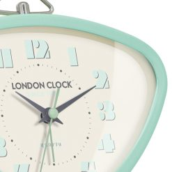 This image shows the astro alarm clock in mint with stunning clock frame