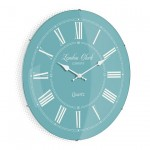 The Emma Teal Wall Clock