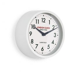 Round wall clock with white frame the horwich is stunning