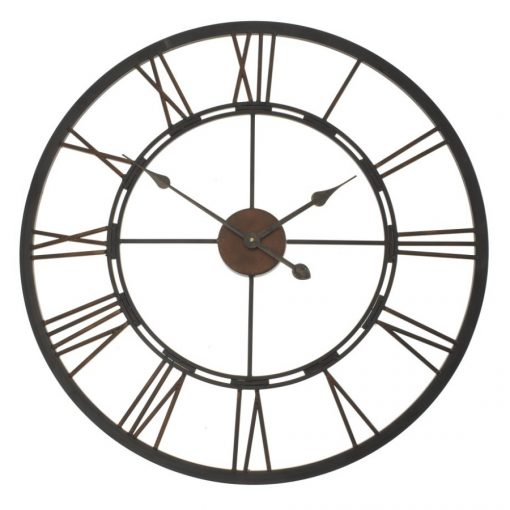 Iron-Roman-Wall-Clock-Front