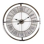 Roman Numeral Mesh Wall Clock