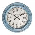 Fulton Large Wall Clock Blue