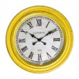 Fulton Large Wall Clock Yellow