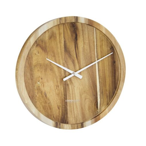 Large pure wall clock front view