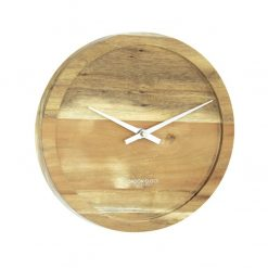 Small pure wall clock front view