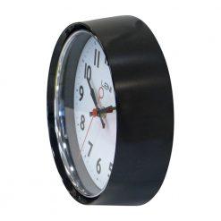 Black casing of leni essentials wall clock