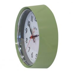 pastel green casing of leni essentials wall clocks