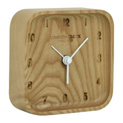 Image of Blokk Wood Alarm Clock Wooden Design