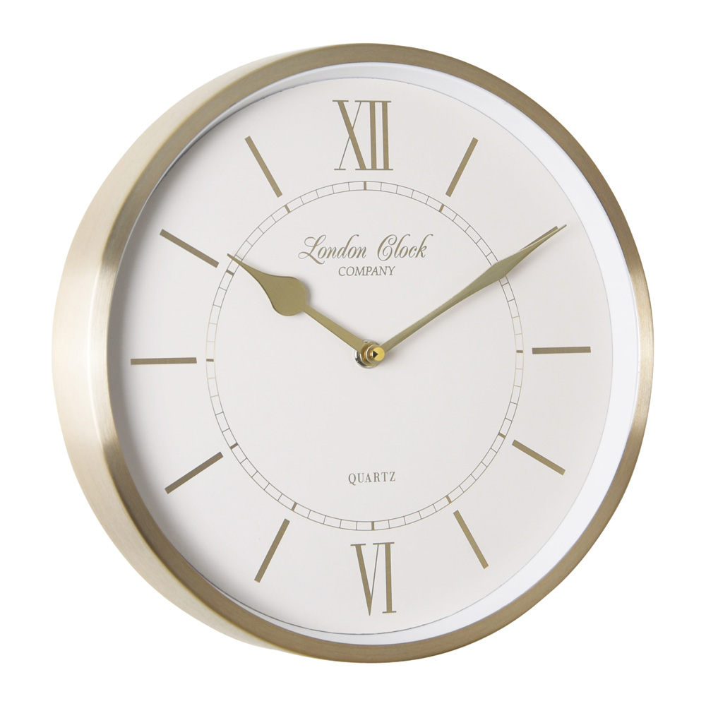 Buy Sophie Gold Wall Clock Online Purely Wall Clocks