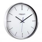Vantage Silver Wall Clock