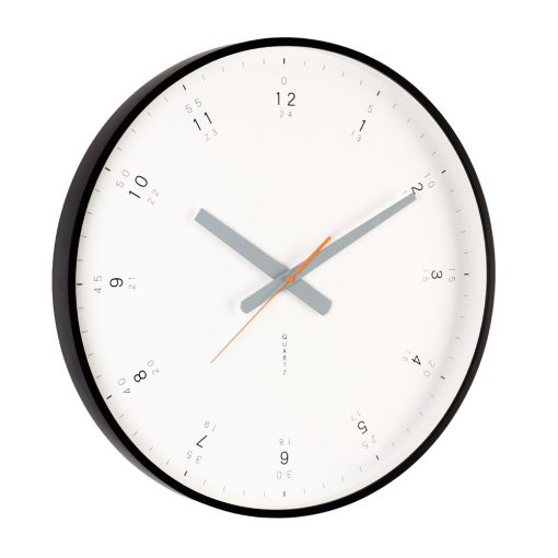 Buy Modern Black Wall Clock Online Purely Wall Clocks