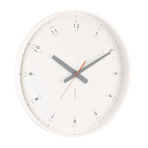 Modern-White-Wall-Clock-Angle