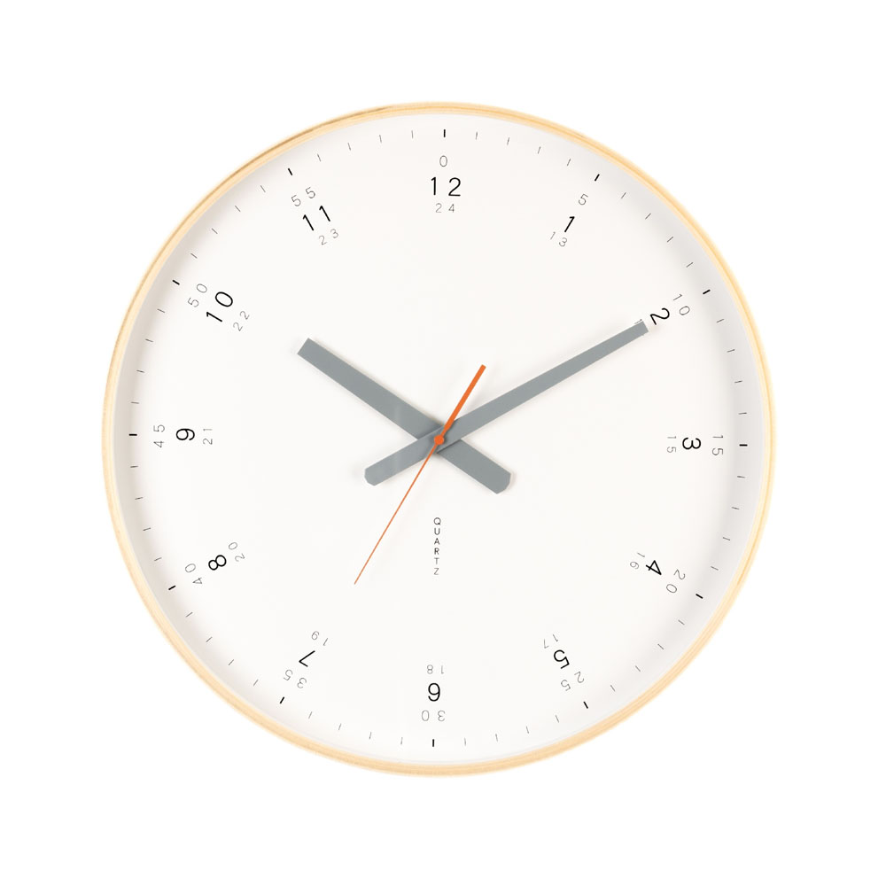 Buy Modern Wooden Wall Clock Online Purely Wall Clocks