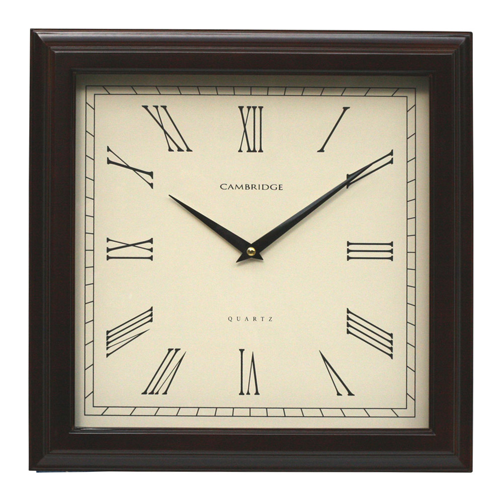 Buy Bailey Square Wall Clock Online Purely Wall Clocks