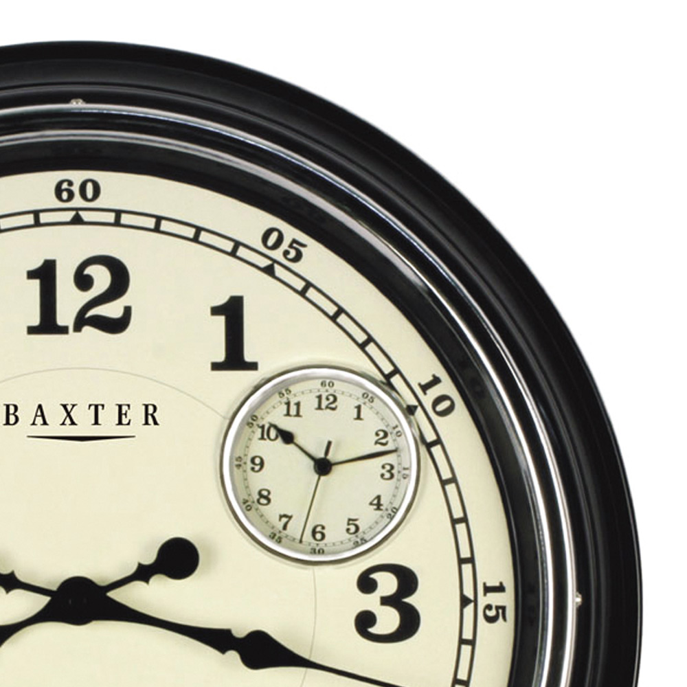 Buy baxter wall clock three time zones online purely for Time zone wall clocks australia