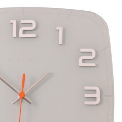 Zoomed in of White Classy Wall Clock