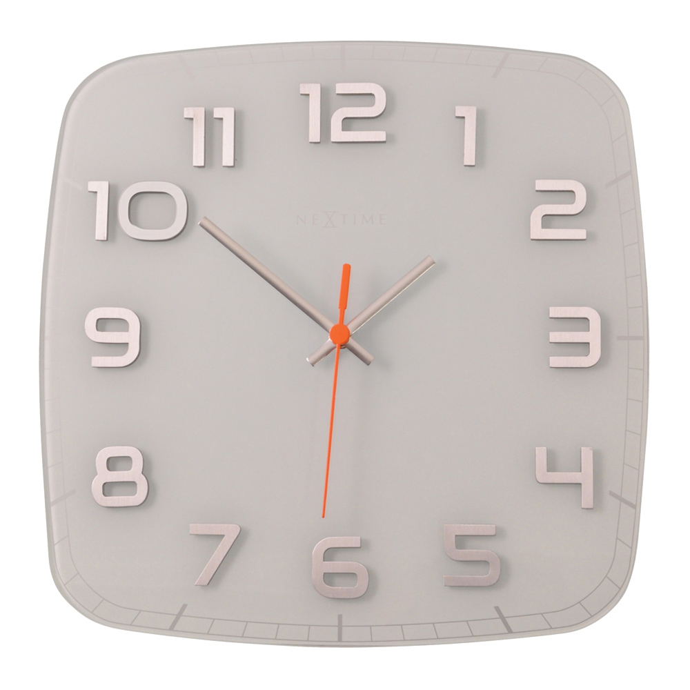 Buy Classy Wall Clock Square White Online Purely Wall Clocks