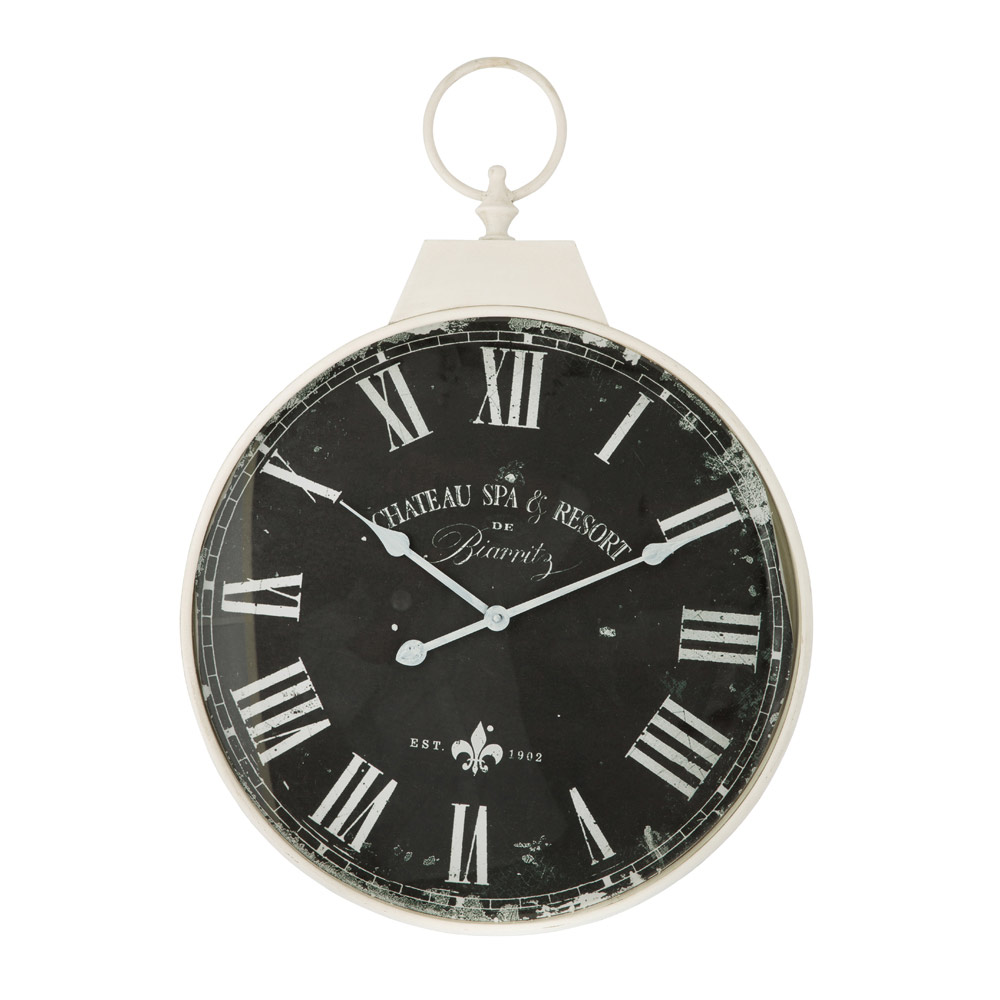 Antique Round Wall Clock The Image Kid
