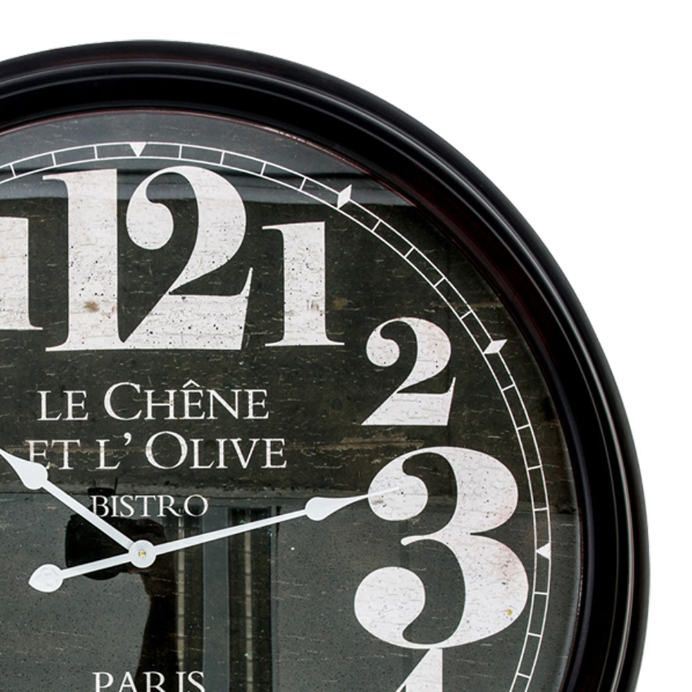 Le Chene Extra Large Metal Wall Clock Hhz04h 1