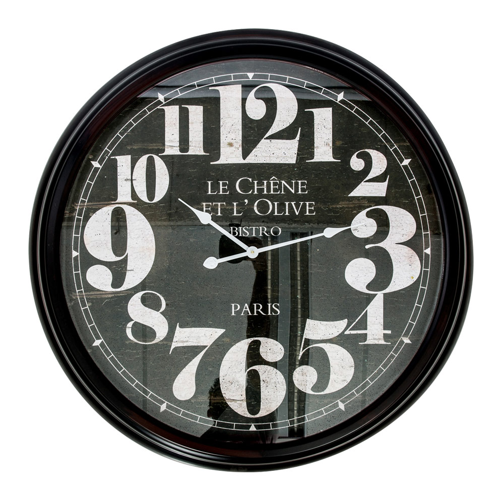 Buy Le Chene Extra Large Metal Wall Clock Online Purely