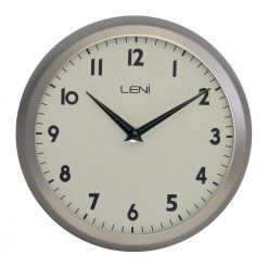 Products page 5 of 9 - Large brushed nickel wall clock ...