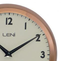 Zoomed in of Copper Wall Clock