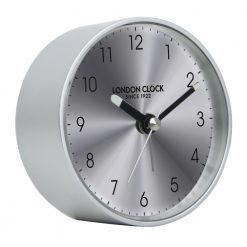 Round Silver NitroWall Clock