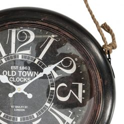 Zoomed in of Old Town Wall Clock