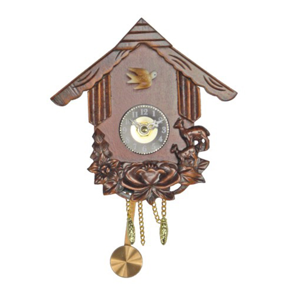 Buy phoenix cuckoo wall clock online purely wall clocks - Cuckoo pendulum wall clock ...