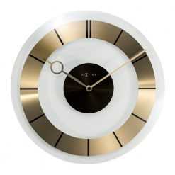 Round Gold Wall Clock