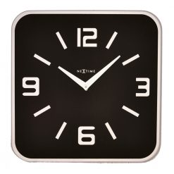 Square Black Shoko Wall Clock