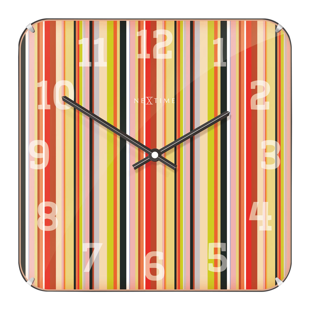 Buy Smithy Square Dome Wall Clock Online Purely Wall Clocks