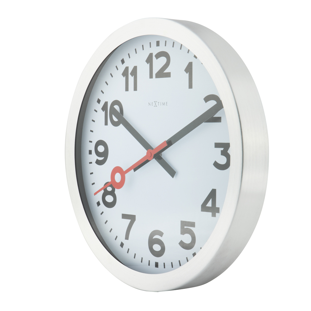 Buy Station Radio Controlled Wall Clock White Online
