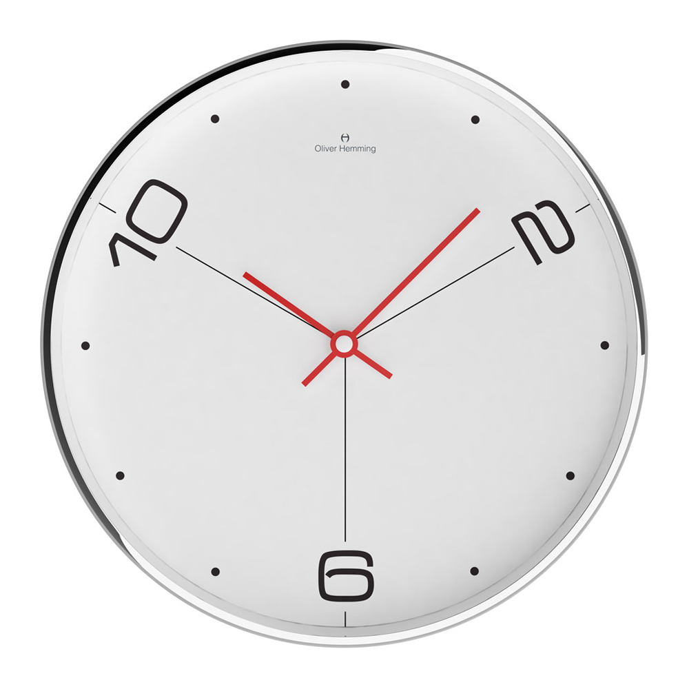 Buy Ten And Two 30cm Wall Clock White Online : Purely Wall Clocks