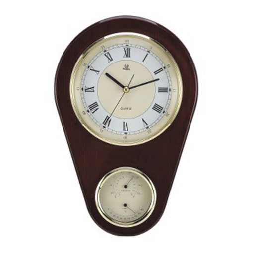 Buy Thermo Hygrometer Wall Clock Online Purely Wall Clocks