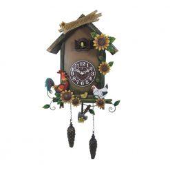 Bird House Cuckoo Wall Clock