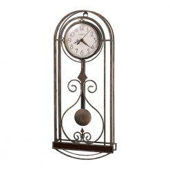 Stylish bronze wall clock