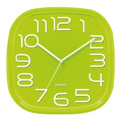 3d Green Wall Clock with white hands