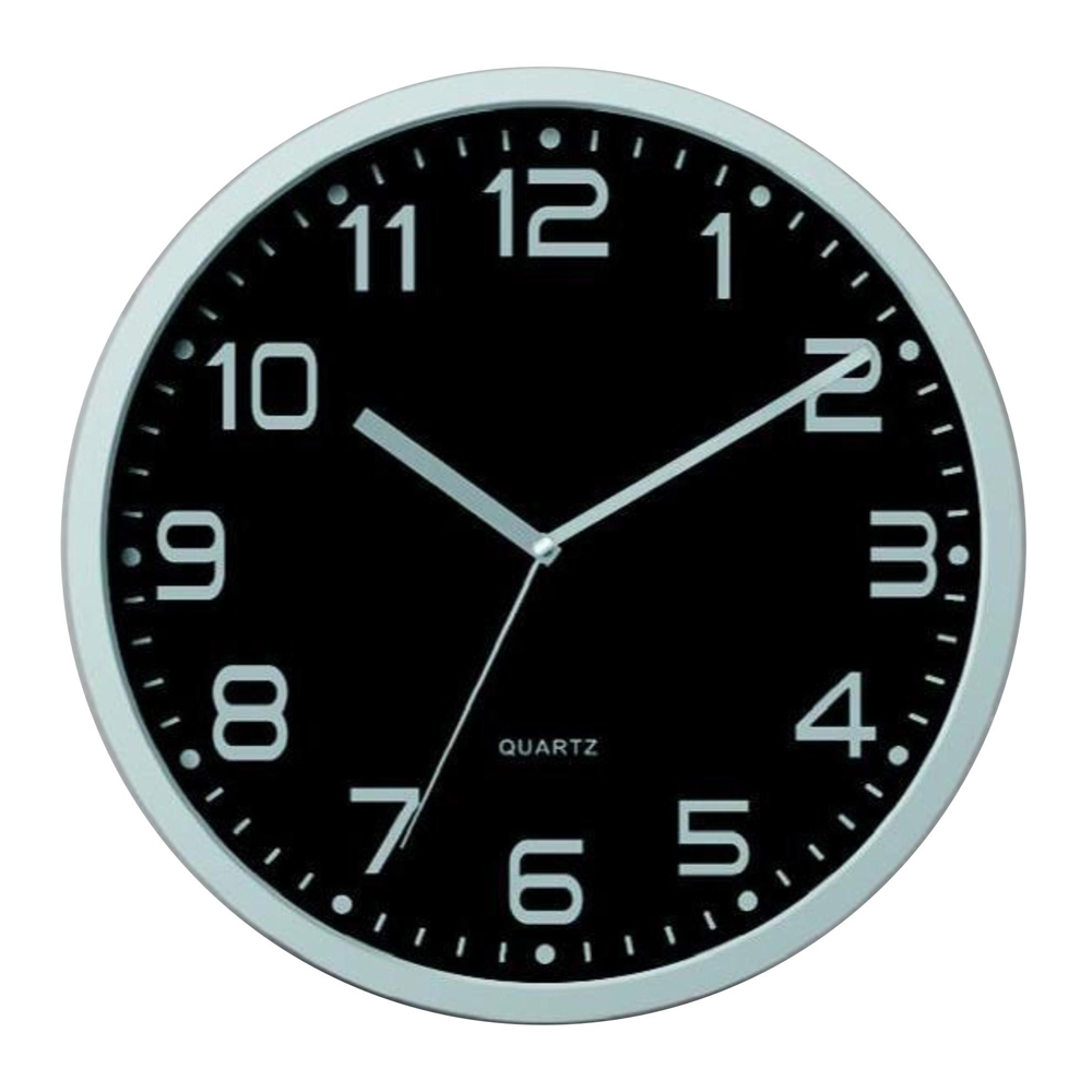 Buy Contemporary Black Wall Clock Online Purely Wall Clocks