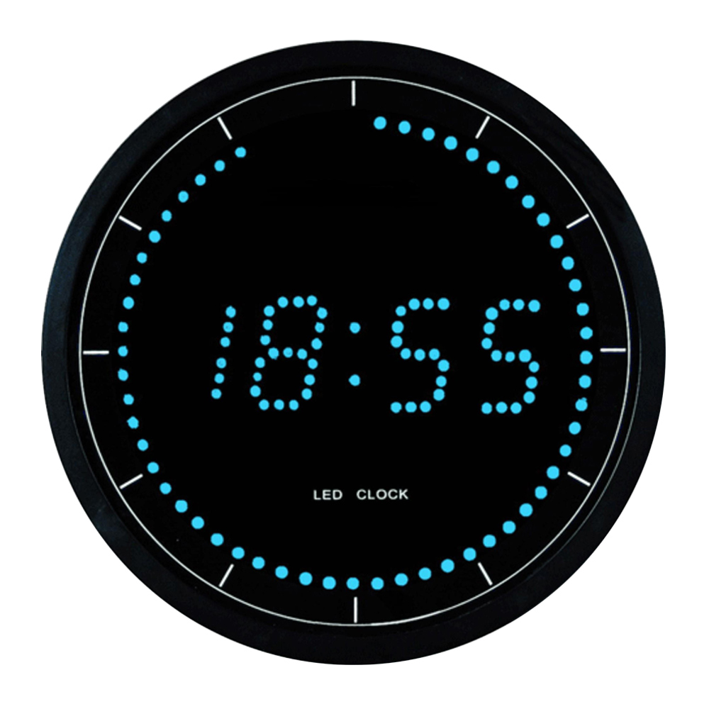 Buy electrical led digital wall clock online purely wall Digital led wall clock