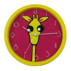 Round Gerard Girrafe Wall Clock with white hand