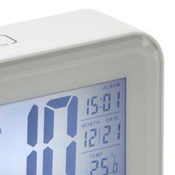 Close up Digital Alarm Clock Rectangle