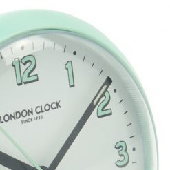 Zoomed in of Echo Teal Silent Alarm Clock