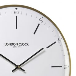 Zoomed in view of Larson Silent Wall Clock