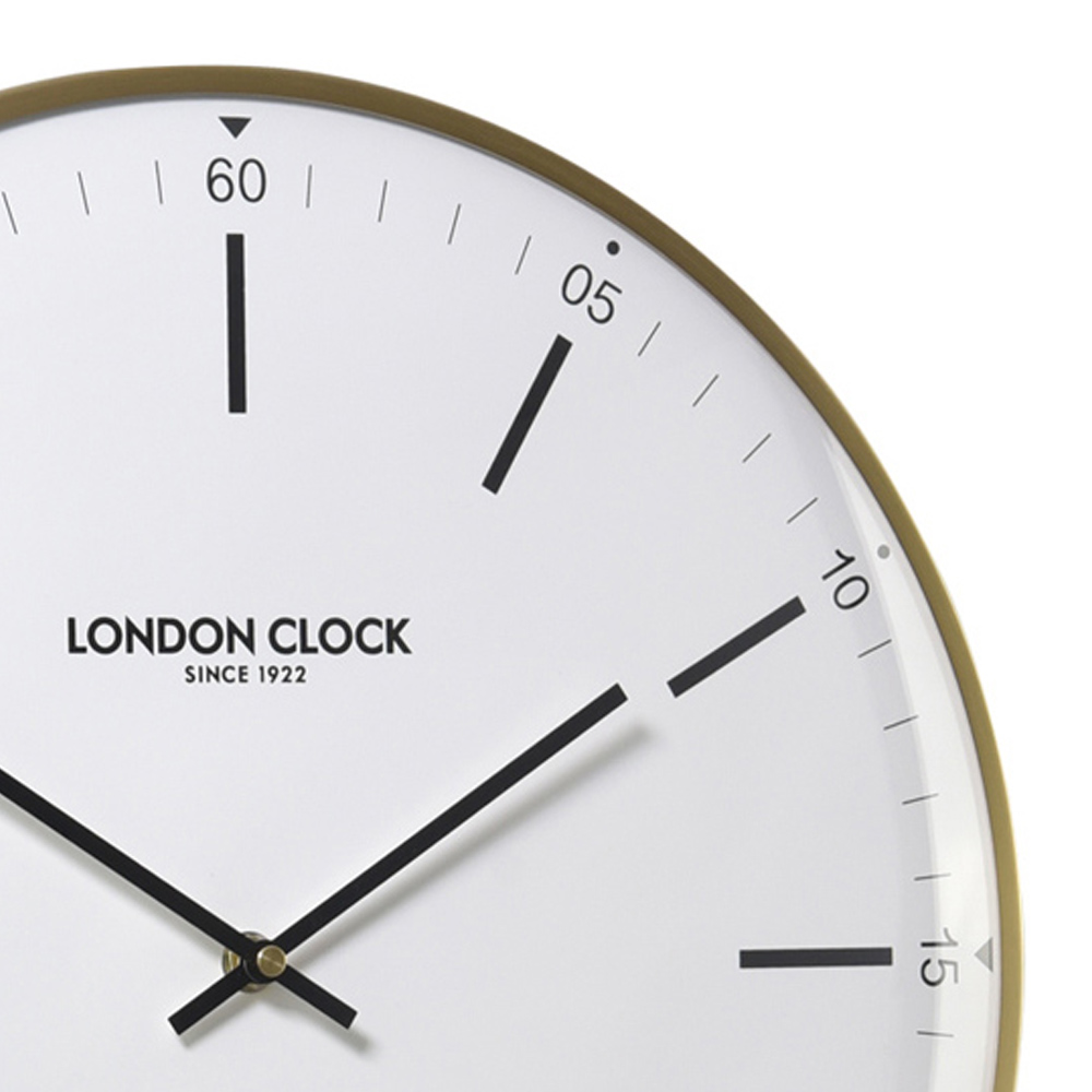 Buy larson silent wall clock 40cm online purely wall clocks larson silent wall clock 40cm 01211p close up amipublicfo Images
